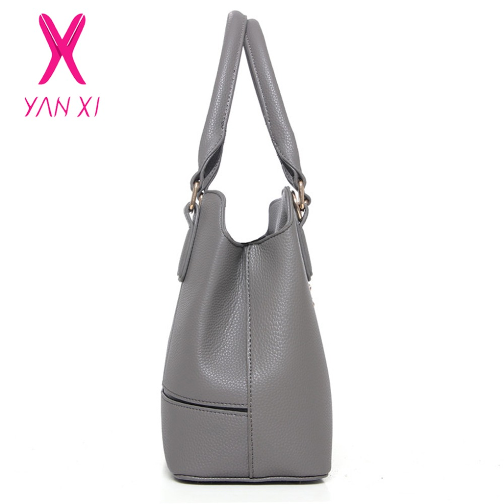 YANXI Hot Sale Fashion 6 In 1 Lady Tote Shoulder Day Clutches Designer Purse  And Handbags Leather Women Quality PU Composite Bag on Aliexpress.com  857a42d095b03