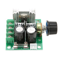 10A 12V-40V PWM DC Motor Governor Stepless Variable Speed Switch Module PWM Motor Speed Controller COB-63 DC Motor Speed Control hot sale dc 12 48v 400w aluminum alloy cnc spindle motor er11 mach3 pwm speed controller mount 3 175mm