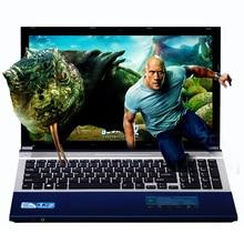 4G + 320 GB 15.6 pulgadas Quad Core Rápida Navegación Windows 7/8. 1 Notebook PC Portátil Ordenador con DVD ROM para la escuela, oficina o en el hogar