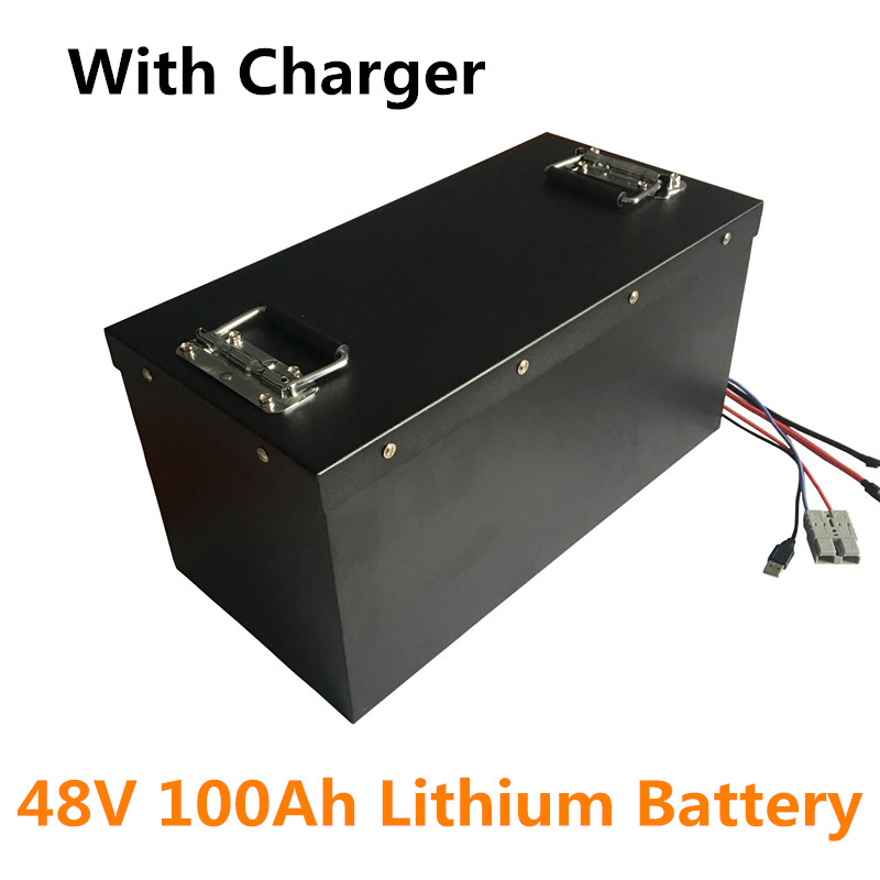 Deep Cycle Life Rechargeable Lithium Ion Battery 100ah 48v
