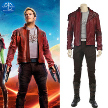 MANLUYUNXIAO Guardians of The Galaxy Costume Star-Lord Cosplay Mens Suit Full Set Peter Quill Custom Made