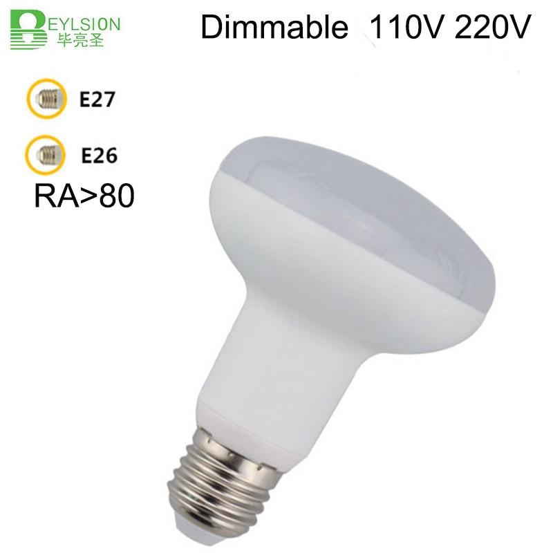 BEYLSION Umbrella LED Bulb Cool White Warm White AC85~265V Dimmable SpotLight Lamp Home 7W 9W 12W 15W E27 E26 R63 R80 R90 R95