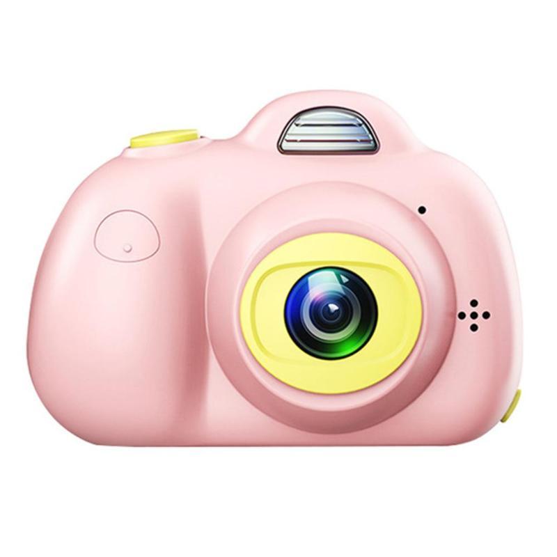 Enfants jouet caméras 16G 2 pouces HD écran 800W Pixel numérique Mini caméra pour enfants + lecteur de carte carte mémoire caméra numérique