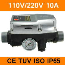 110V 220V Automatic Pump Control Water Pump Pressure Switch Electric Pump Controller 50/60Hz IP65 10A CE TUV ISO Certificate