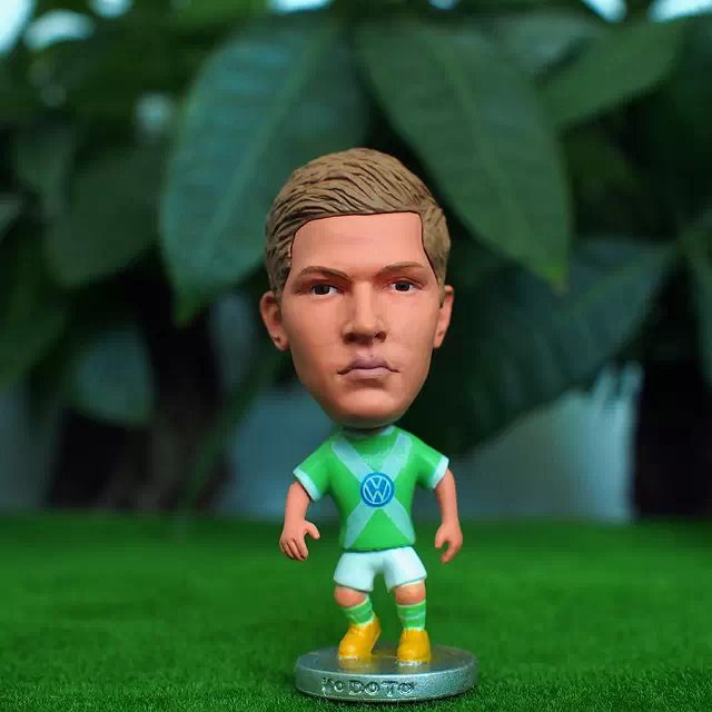 Soccer Star 14# DE BRUYNE (WOL-2015) 2.5 Action Dolls Figurine ...