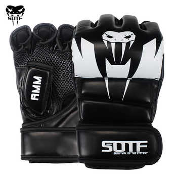 SOTF Adults MMA Venomous snake Multicolor Boxing gloves MMA Tiger Muay Thai gloves muay thai boxing fight glove Sanda pads box - DISCOUNT ITEM  22% OFF All Category