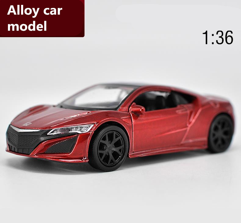 1:36 Scale Honda Acura NSX Alloy Pull Back Car Toy,high