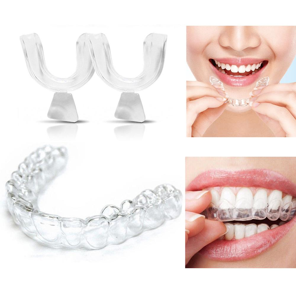 New Dental Orthodontic Braces Silicone Soft Hard Tooth Tray Appliance Alignment Trainer Mouth  CW29