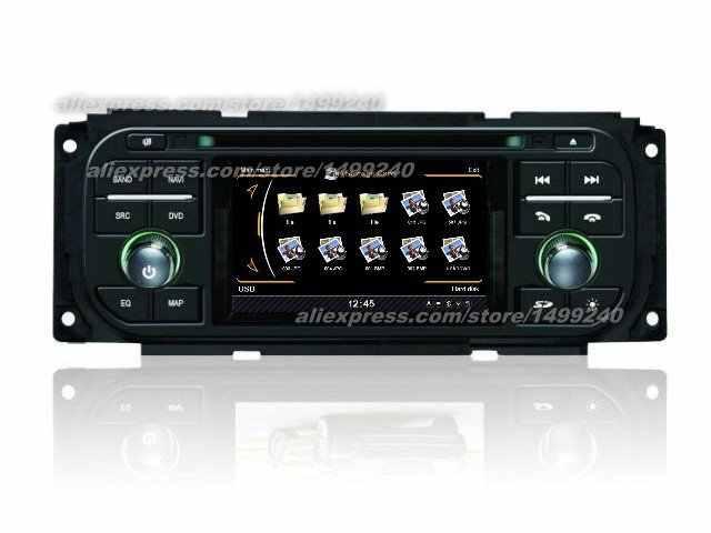Cho Chrysler Voyager 2001 ~ 2004 2005 2006 2007 Xe Ô Tô Android Đài Phát Thanh Đồng Hồ Định Vị GPS Cầu Thủ Đa Phương Tiện Hệ Thống Màn Hình Hiển Thị HD tivi