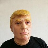 Donald Trump Mask Halloween Clothing Latex Cosplay
