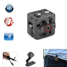 SQ8 SQ 8 1080P HD Small Camera Mini Portable Video Cam Night Vision Security DVR Pocket DVs Tiny Camcorder Support TF