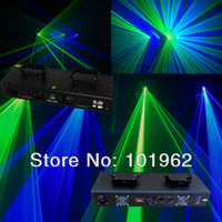 Professional lighting 300mw 4 lens laser show system dmx lihting for club bar