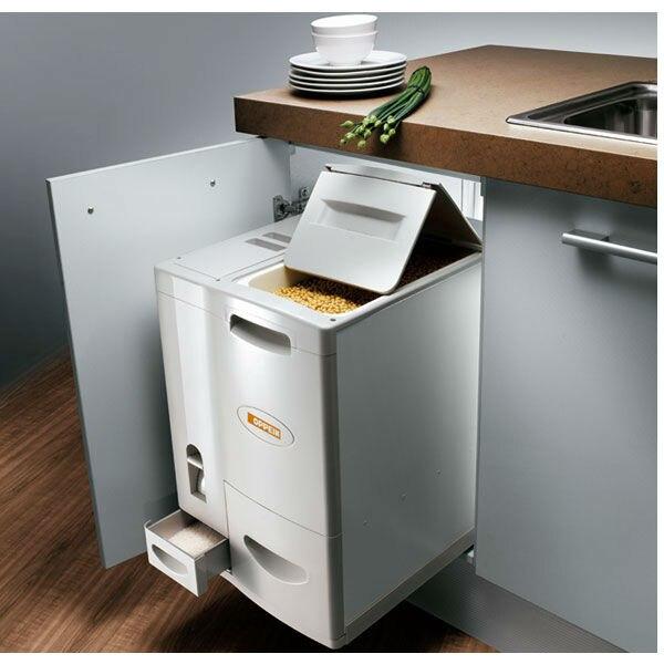 Flour Container Kitchen Storage Rice Holder Box Cereal