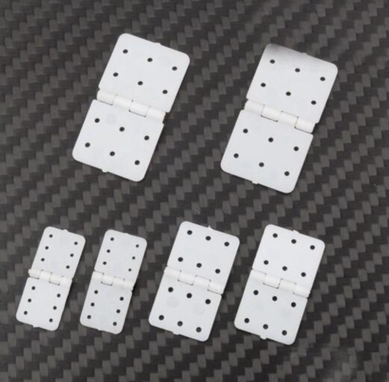10PCS/Lot Plastic Hinge Flat Needle Binder KT Fixed Wing