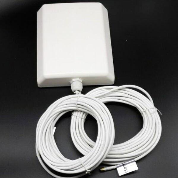 Открытый настенный панельная антенна 1800-2600 МГЦ 4 Г LTE TDD 10db антенна Mimo 2 * sma мужской с 10 м кабеля