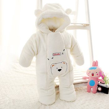 2016 New Arrival Baby Boy Girl Jumpsuit Newborn Winter Outerwear Kids Clothing Set Snow Wear Coat Warm Jacket Clothes Rompers