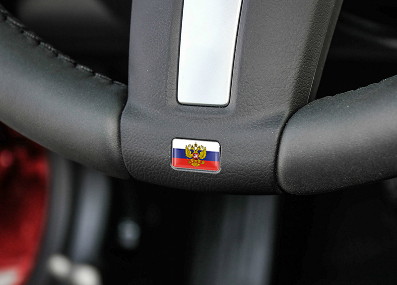 Image 5 - 20Pcs Car styling Russian Federation National Emblem Coat of Arms of Russia Eagle Stickers Car Decoration motorcycle DIY Decals-in Car Stickers from Automobiles & Motorcycles