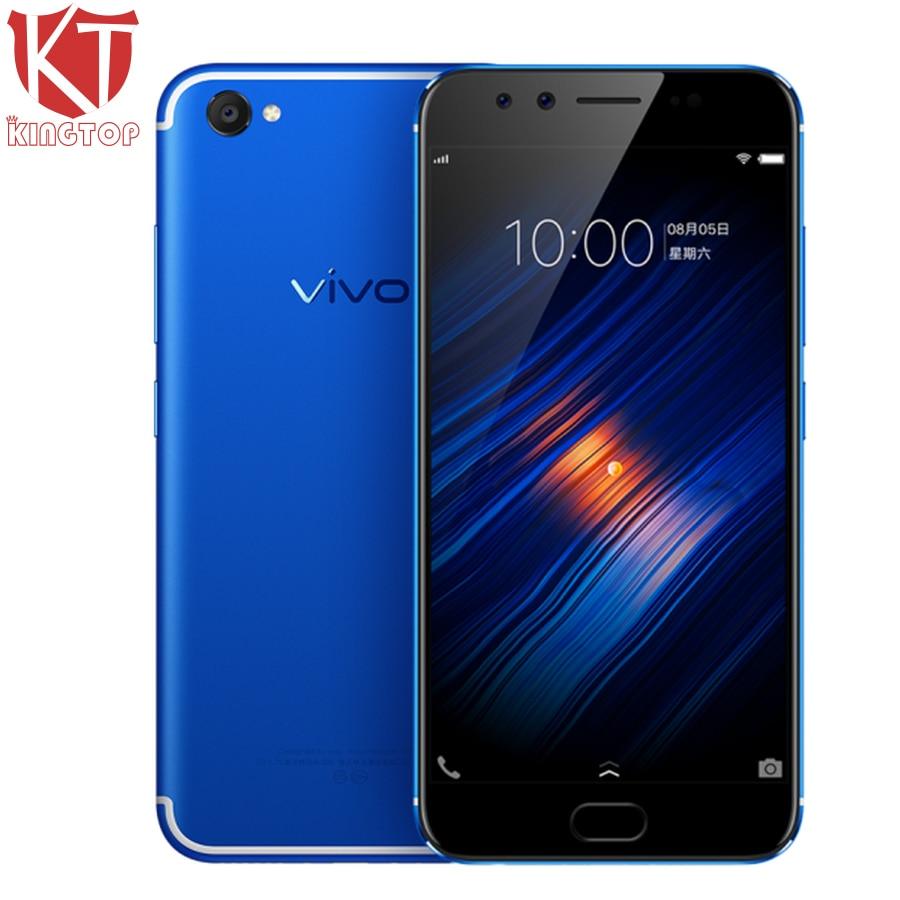 Original VIVO X9s Mobile Phone 5.5 inch 4GB RAM 64G ROM Snapdragon 652 Octa Core Dual Front Camera 3320mAh Fingerprint CellPhone