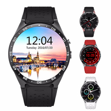 Kingwear KW88 Android 5.1 OS Smart Watch Phone MTK6580 Quad Core 1.39 Inch Smartwatch Support 3G WCDMA Nano SIM Wifi Heart Rate