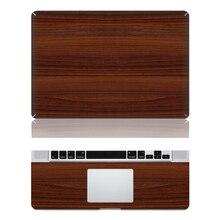 Wood Vinyl Sticker Decal Skin Cover Case For Laptop Macbook Air Pro Retina 11