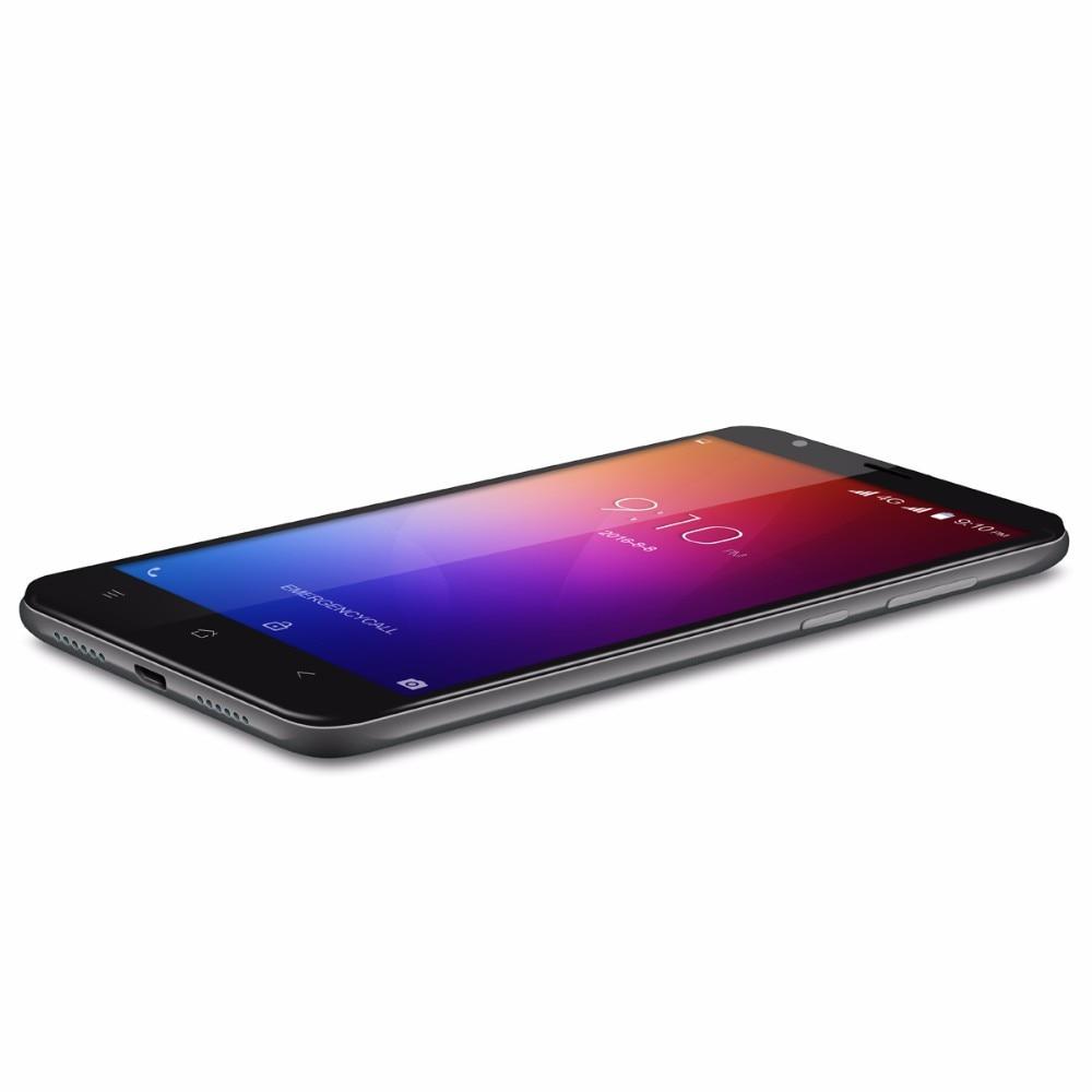 5.5 inch HD המקורי Blackview E7 החכם MTK6737 Quad Core טלפון נייד 1GB RAM 16GB ROM אנדרואיד 6.0 4G-LTE, GPS טלפון נייד