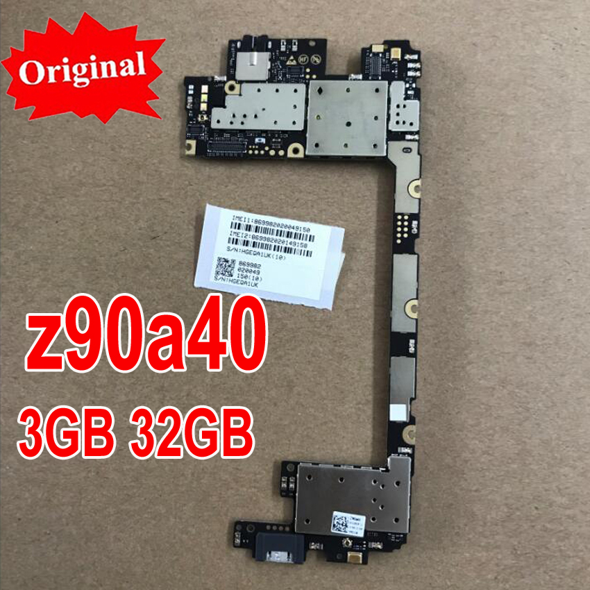 Original New Multi-Language Main Board For Lenovo Vibe shot Z90 Z90A40 3GB 32GB motherboard mainboard card fee chipsets