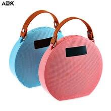 ALBK M9 Wi-fi Bluetooth four.zero Speaker Transportable Stereo LoudSpeaker LCD Display screen Help TF Card U Disk AUX Operate for Telephone PC