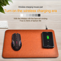 KEXU 2 In 1 Wireless Charger Pad Mouse Pads Phone Stand Charging Transmitter For IPhone 8