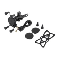 Universal Adjustable CELL PHONE HOLDER Motorcycle Bike Bicycle Handlebar Mount For Samsung For Galaxy For Sony