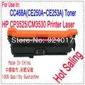 Тонер для принтера HP Laserjet CP3525 CM3530  CC648A CE250A CE251A CE252A CE253A  тонер для картриджей HP 3525 3530  лазерный принтер