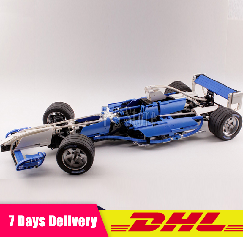 DHL IN Stock Lepin 20022 1586Pcs Genuine Technic Series The Williams F1 Team Racer Set Lepin Building Blocks Bricks Toy Model lepin 20076 technic series the mack big