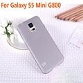 0.3mm Ultra Thin Case For Galaxy S5 Mini G800 Slim Matte Transparent Cover  For Samsung S5Mini