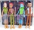 Куклы, 1 пк двойка горгона, Гайд-джерси, Джекил-айленд, Клод вольф волк, Девочки пластик игрушки год подарок для монстр игрушки кукла