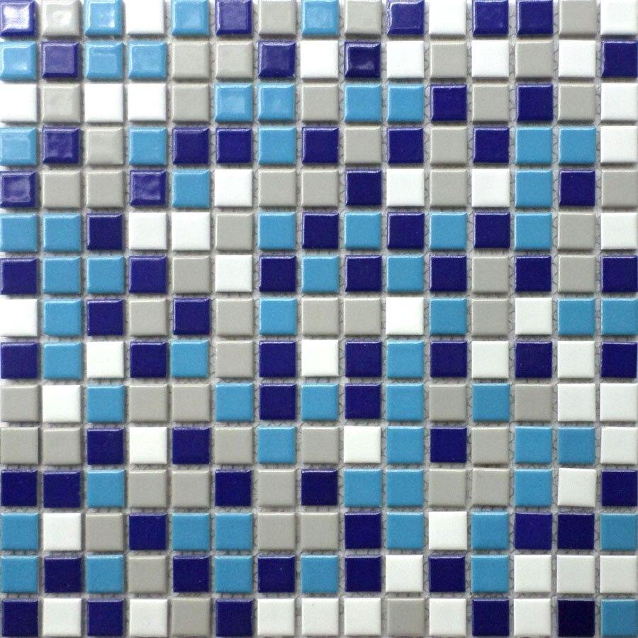 New square ceramic mosaic tile kitchen backsplash bathroom wall ...