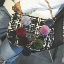 Neue Stil berühmte marke Retro Minimalistischen Crossbody Bag Kleine Frauen Umhängetasche Frauen Umhängetasche diamant check nubukleder