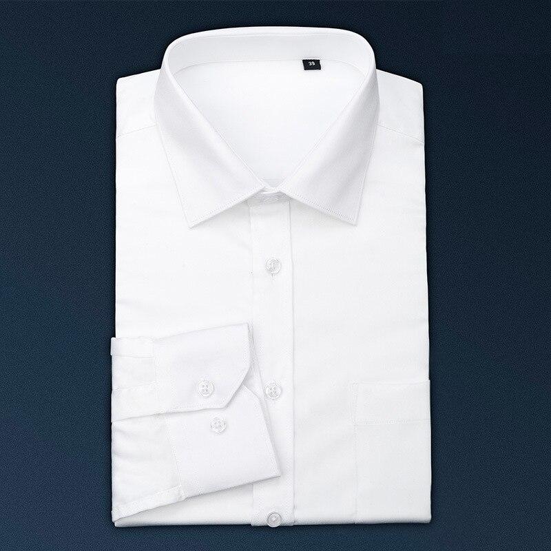 Noir Hommes Manches Ciel Chemises À Soie D'affaires Haute Pur De Professionnel fin Non rouge Blanches blanc Longues Coton Luxe pu chaude qrCaBnq