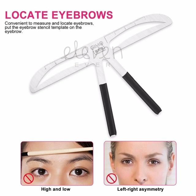 Makeup Tool Kit Accurate Permanent Makeup Eyebrow Shaping Tools