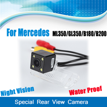 Special Rear View Camera For Mercedes Benz B Class B200 B180, For Mercedes ML350 W164, GL350 X164 image