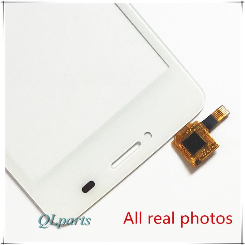"""4 """"ekran dotykowy czujnik do zte blade af3 t221 a5 a5 pro ekran dotykowy przedni panel dotykowy szkło digitizer wymiana z naklejki 3"""
