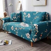 Nuovo stile divano copre per soggiorno materiale elastico di stirata fodere divano copertura della sedia forma di L divano 1/2/3/4 sedile