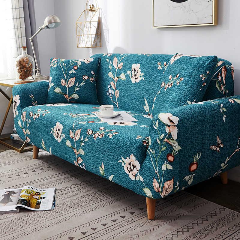 新スタイルのカバーリビングルーム弾性素材ストレッチ slipcovers ソファ椅子カバー l 字型ソファ 1/2 /3/4 シート