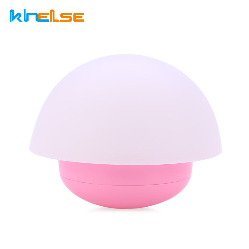 Children Touch Sensor Night Light Soft Cartoon Baby Nursery USB Lamp Mushroom LED Night Light Color Changing Roly-poly Style
