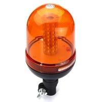 NEW Safurance DC 12V 24V 80 LED Flashing Strobe Beacon Emergency Warning Light Amber Lamp Traffic