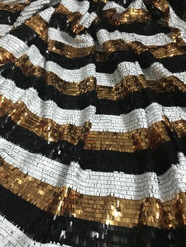 hot sale ZH-11818 embroidery mesh fabric nigerian tulle lace fabric with sequins