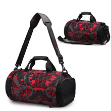 e67664cfdd13 Roadfisher Casual Waterproof Men Women Travel Barrel Luggage Sport Gym  Shoulder Bag