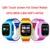 Crianças básicos de segurança anti perdido rastreador gps smart watch q90 com wifi crianças sos emergência para iphone & android smartwatch