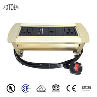 Zdtpm 4 золото Руководство Разъем с универсальным мощность и USB Зарядное устройство