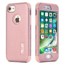 Для apple iphone 7 case, броня три слоя гибридный high impact resistant противоударный полный body protective case for iphone 7 plus