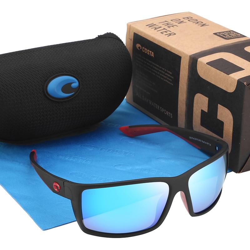Classic 580P Brand Designer Men Sunglasses Driving Square Sunglasses For Men Polarized Eyewear UV400 Male Goggle Gafas Male(China)