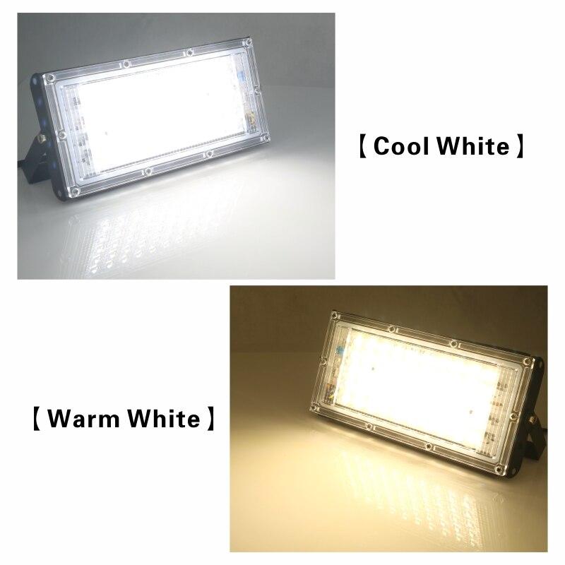 Image 4 - 2pcs/lot 50W Led Flood Light AC 220V 230V 240V Outdoor Floodlight Spotlight IP65 Waterproof LED Street Lamp Landscape LightingFloodlights   -